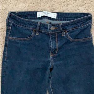 Dark wash Abercrombie & Fitch jeans